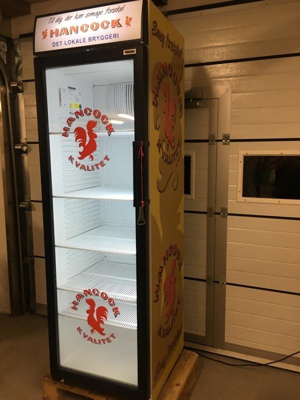 Hancock Display Køleskab m. Glaslåge