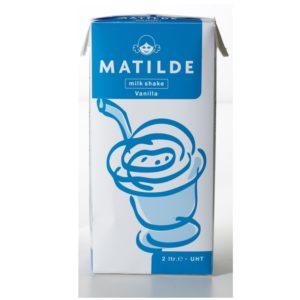 Milkshake mix med vanlije smag til milkshake maskine