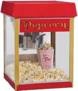 udlejning af popcorn maskine