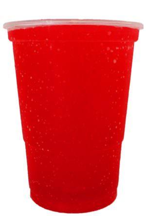 Hindbær/Jordbær/Fliur slush ice saft