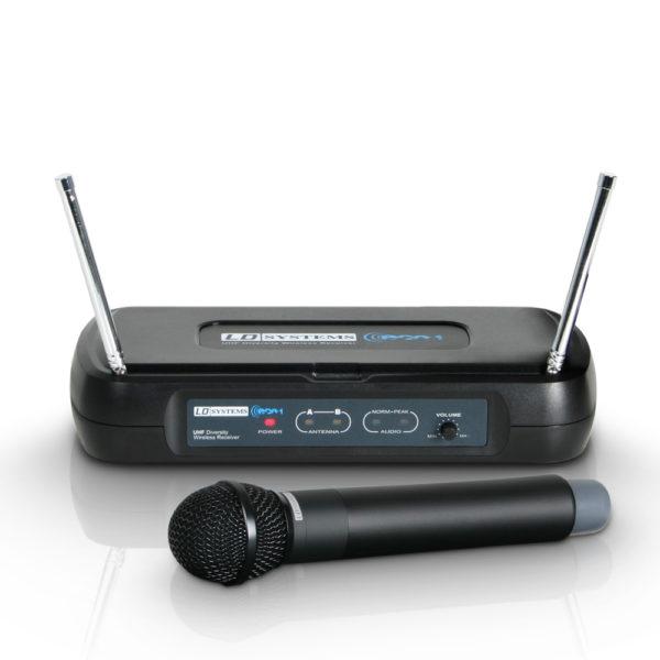 udlejning af trådløse mikrofoner